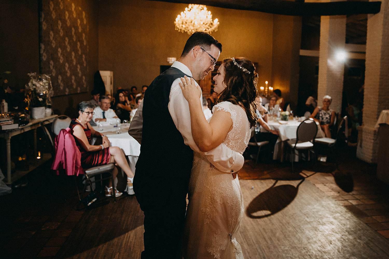openingsdans bruidspaar huwelijk
