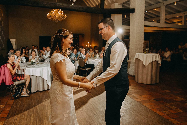 openingsdans huwelijk feestzaal