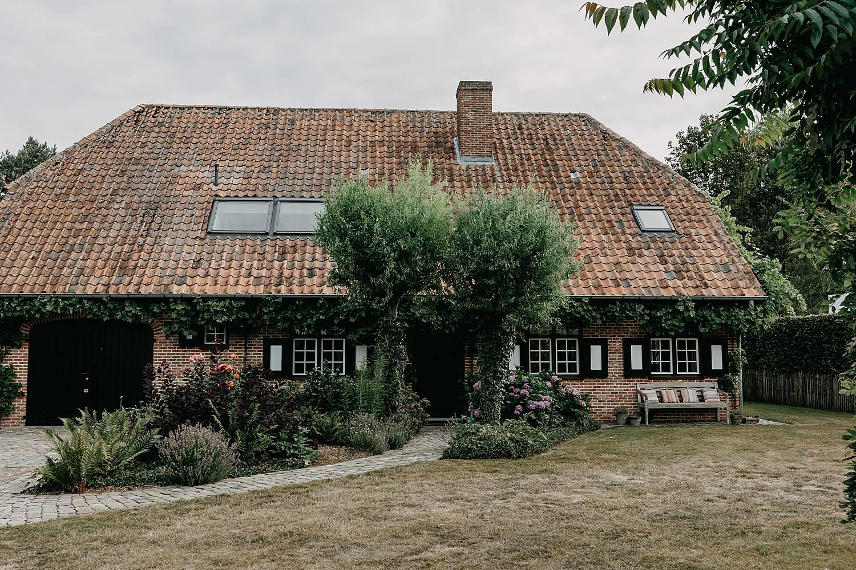 Ouderlijk huis bruidspaar Herk-de-stad