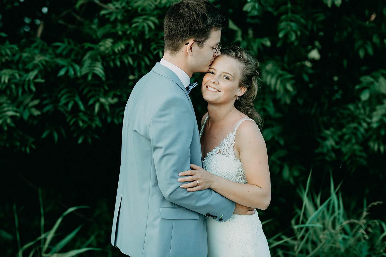 Rumbeke huwelijk bruidspaar