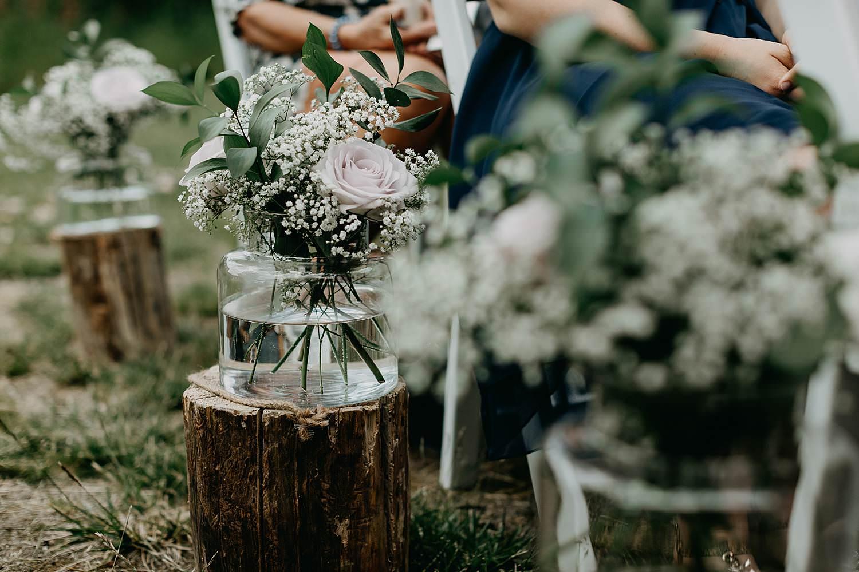 Rumbeke huwelijksceremonie details bloemen