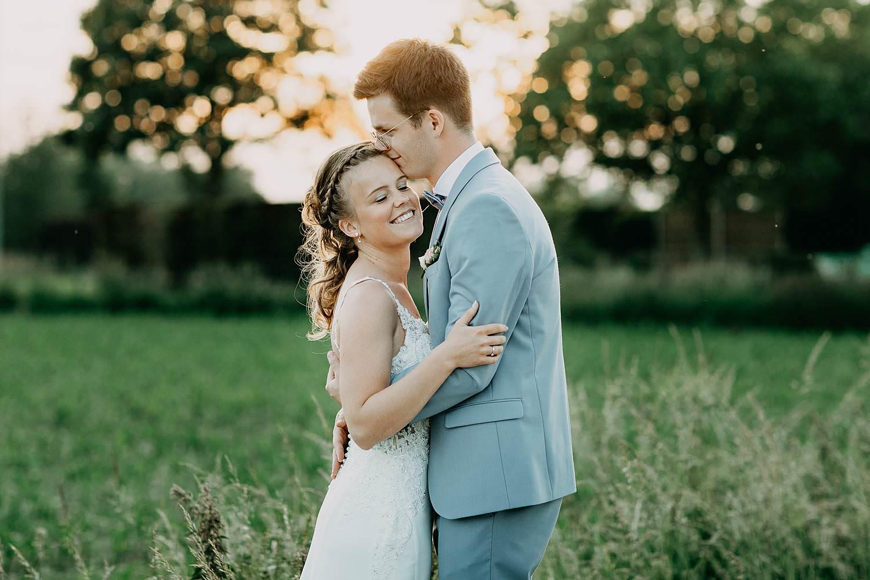 Rumbeke huwelijksreportage bruidspaar