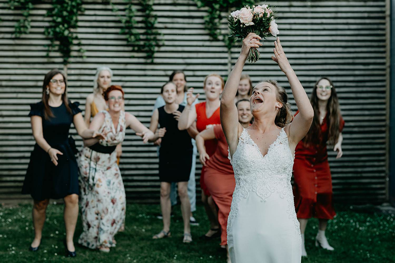 Rumbeke tossen bruidsboeket