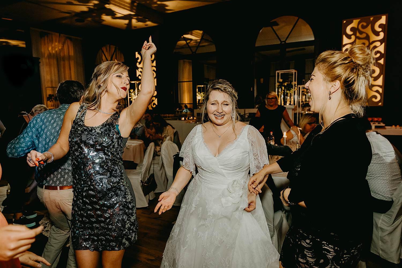 'S Graevenhof huwelijk party