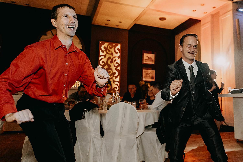 'S Graevenhof trouwfeest dansfeest