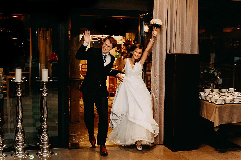 salons caipirinha intrede bruidspaar