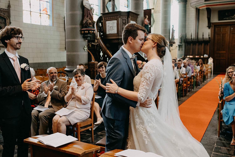 Sint-Dionysiuskerk huwelijk bruidspaar kust