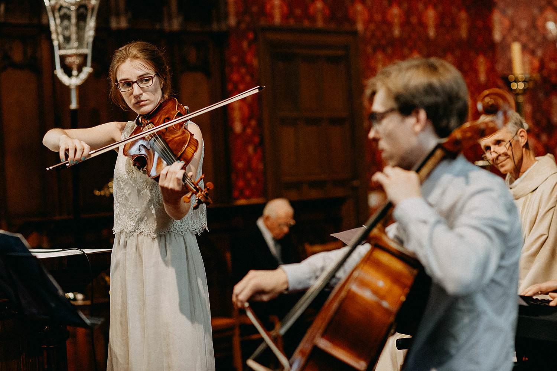 Sint-Dionysiuskerk intrede huwelijk live klassiek orkest