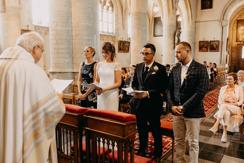 Sint-Genovevakerk huwelijk priester voor koppel