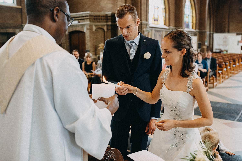 Sint Martinuskerk Houthalen huwelijk aansteken paaskaars