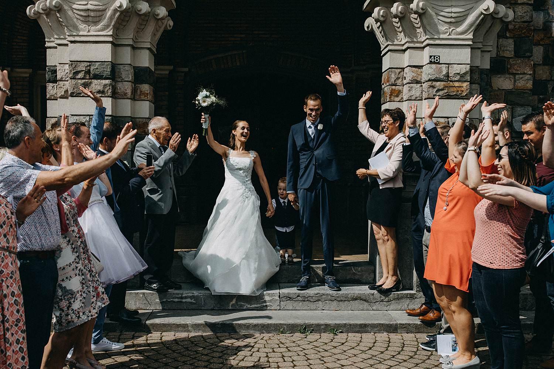 Sint Martinuskerk Houthalen huwelijk uittrede
