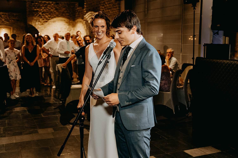 bruidspaar openingsspeech huwelijk