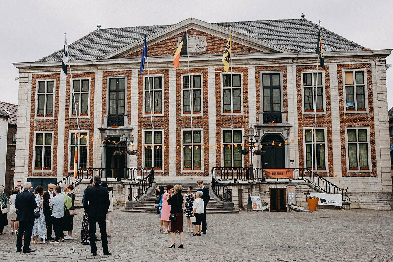 Stadhuis Diest markplein