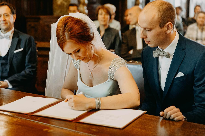 Stadhuis Hasselt tekenen wettelijk huwelijk