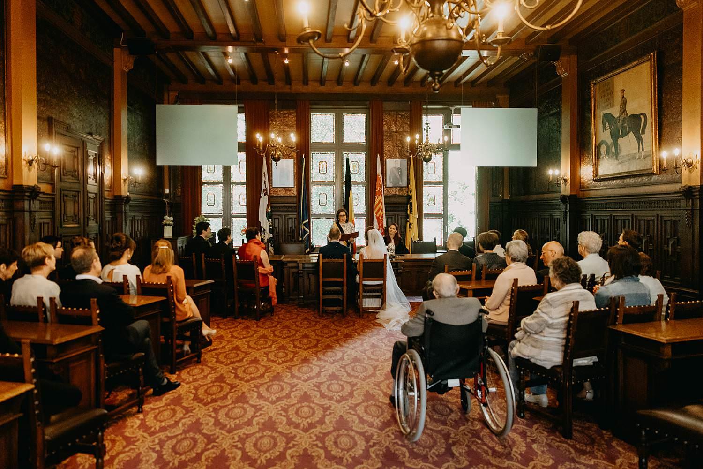 Stadhuis Hasselt trouw Kirsten en Ruben
