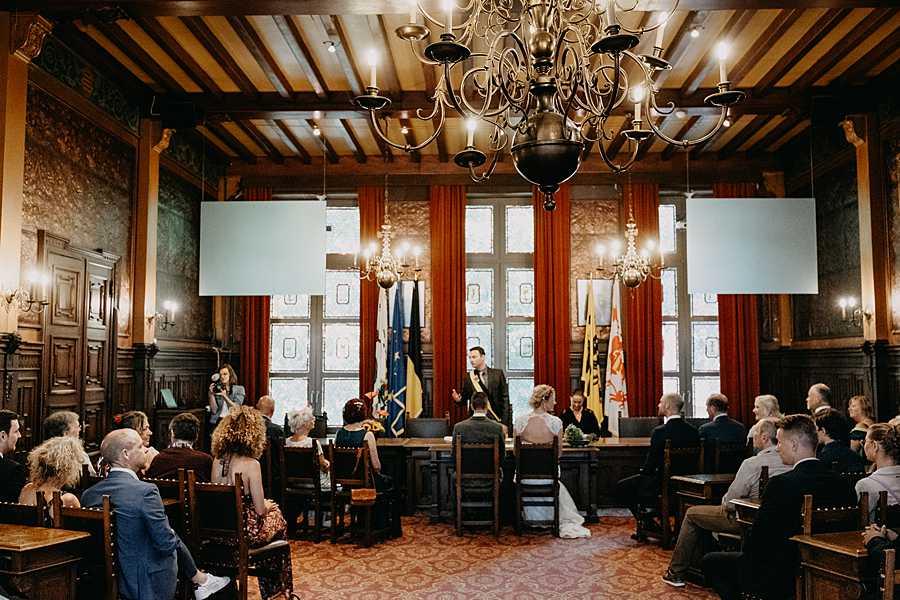 Stadhuis Hasselt trouwzaal huwelijk