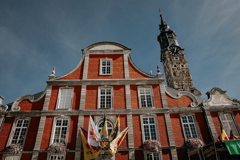 Stadhuis Sint-Truiden voorgevel