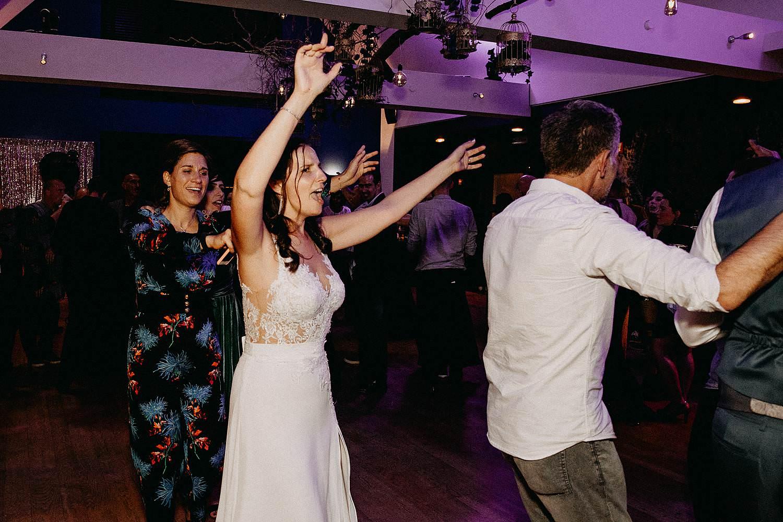 't Driessent bruid danst