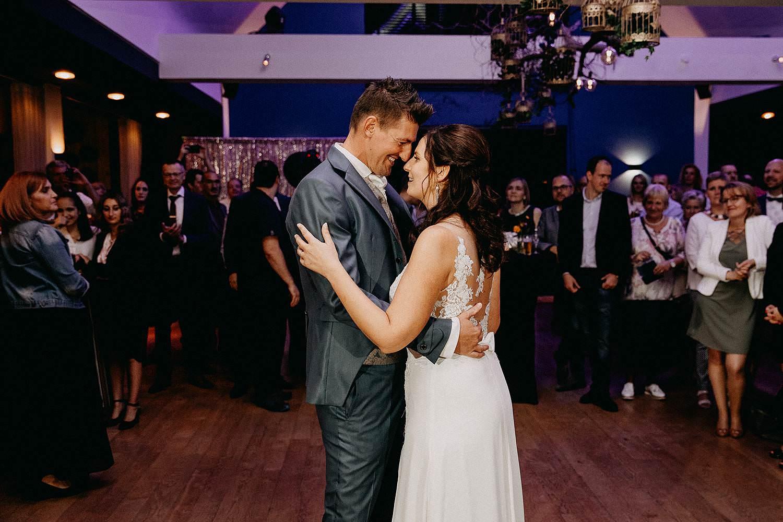 't Driessent huwelijk openingsdans bruidspaar