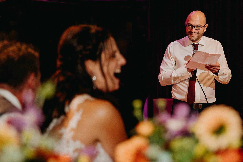 't Driessent speech huwelijk feestzaal