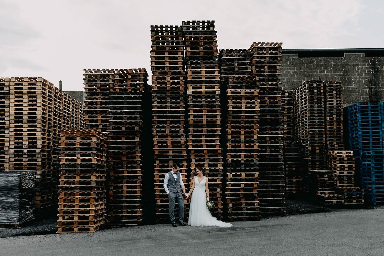 Ter Eeste brouwerij Rodenbach bruidspaar