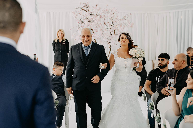 The Loft intrede binnenceremonie huwelijk