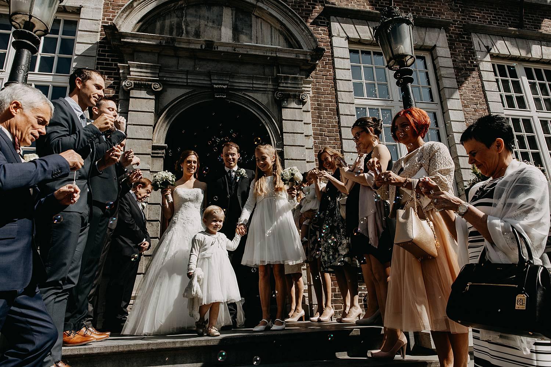 uittrede huwelijk stadhuis Hasselt