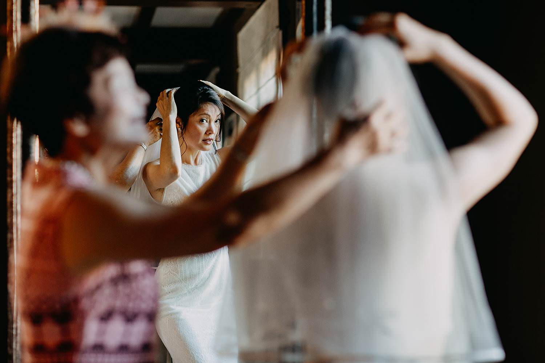 Voorbereiding huwelijk Chinese bruid