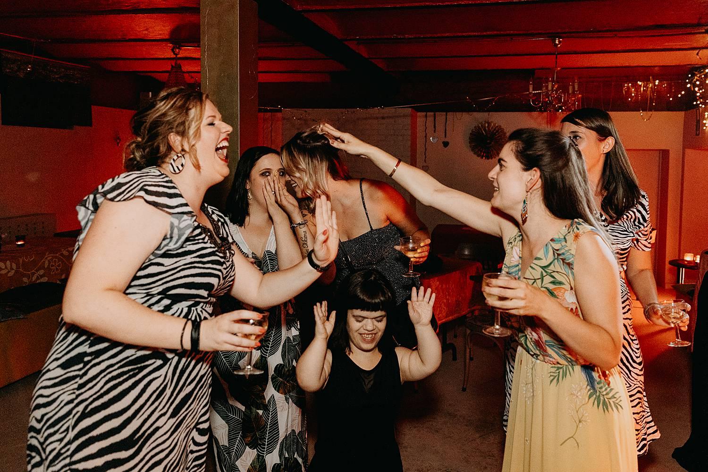 vriendinnen huwelijksfeest Huis van Mihr