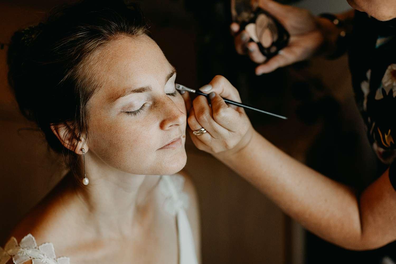 Make-up aanbrengen huwelijk Hasselt