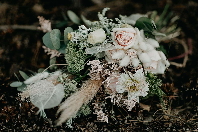 bruidsboeket op de Teut Zonhoven