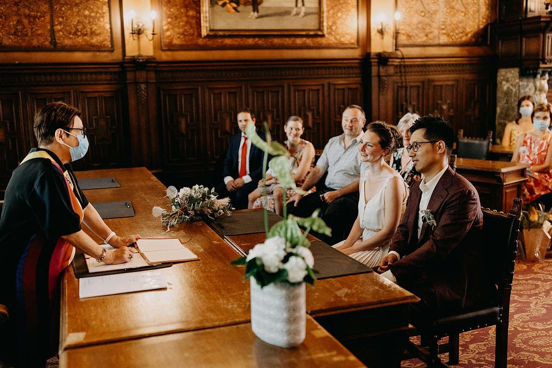 Huwelijk stadhuis trouwzaal Hasselt