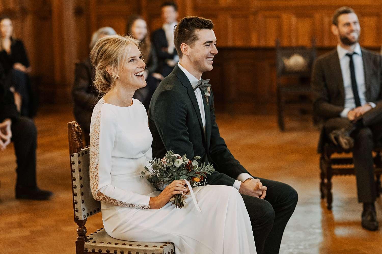 Districtshuis Borgerhout bruidspaar lacht