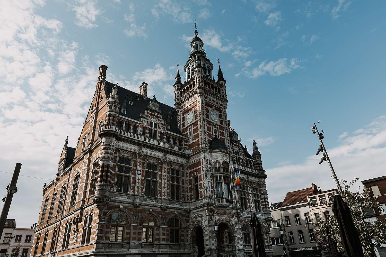 Districtshuis Borgerhout gevel
