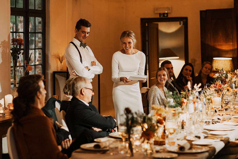 Flinckheuvel Schilde bruid speech feestzaal