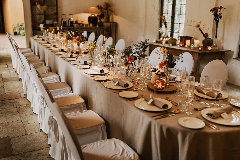 Flinckheuvel Schilde feestzaal feesttafel huwelijk