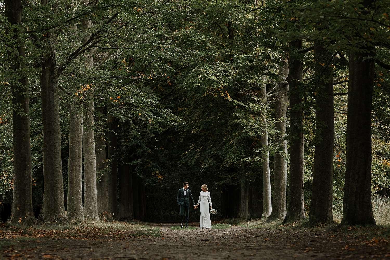 Kasteel van 's-Gravenwezel huwelijksreportage