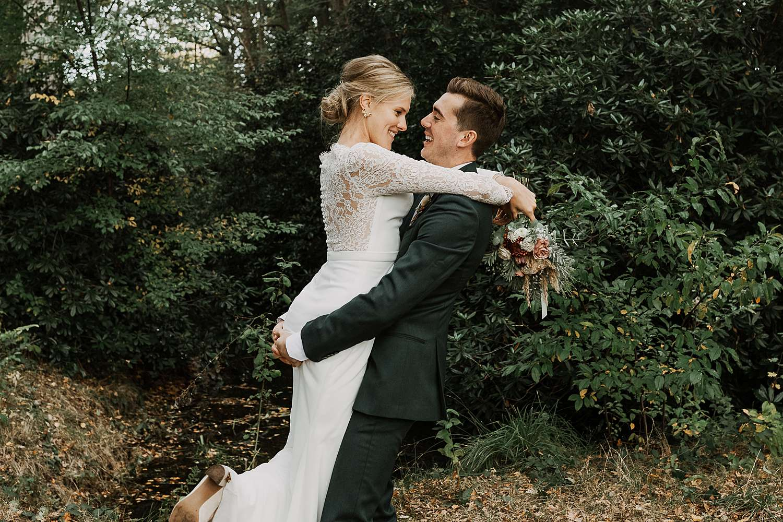 Kasteel van 's-Gravenwezel trouwfoto