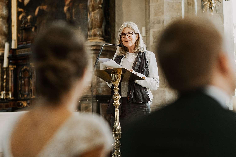 Speech moeder huwelijk Sint-Kwintenskerk