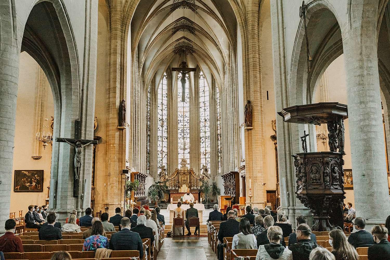 Sint-Kwintenskerk Leuven huwelijk