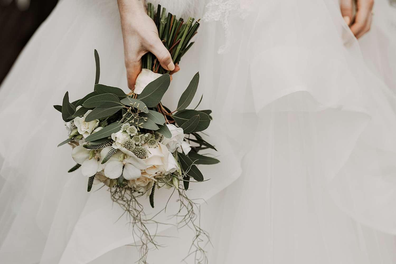 Bruidsboeket huwelijk Wommersom