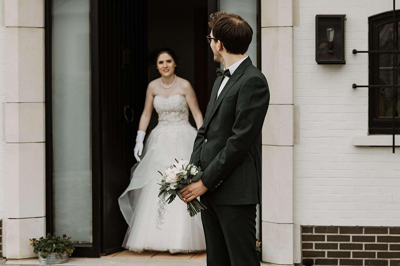 First look huwelijk Wommmersom