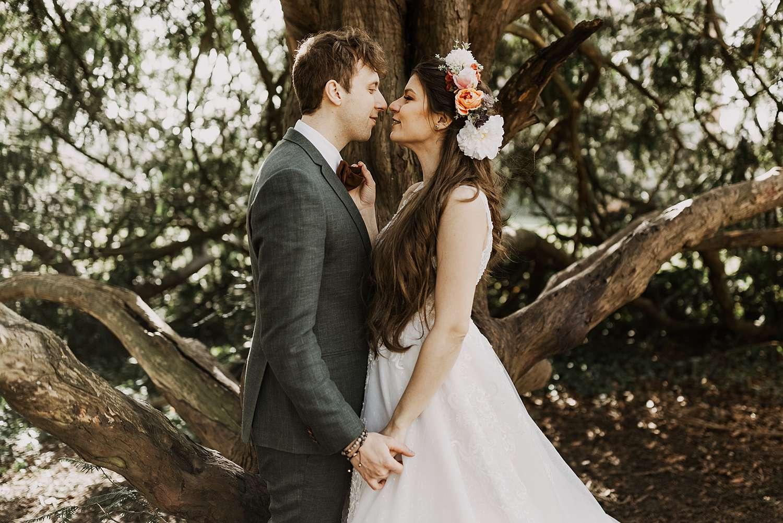 Park van Brasschaat huwelijksreportage