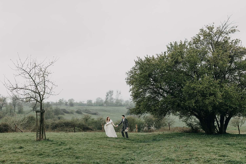 Doorkijkkerkje huwelijksreportage