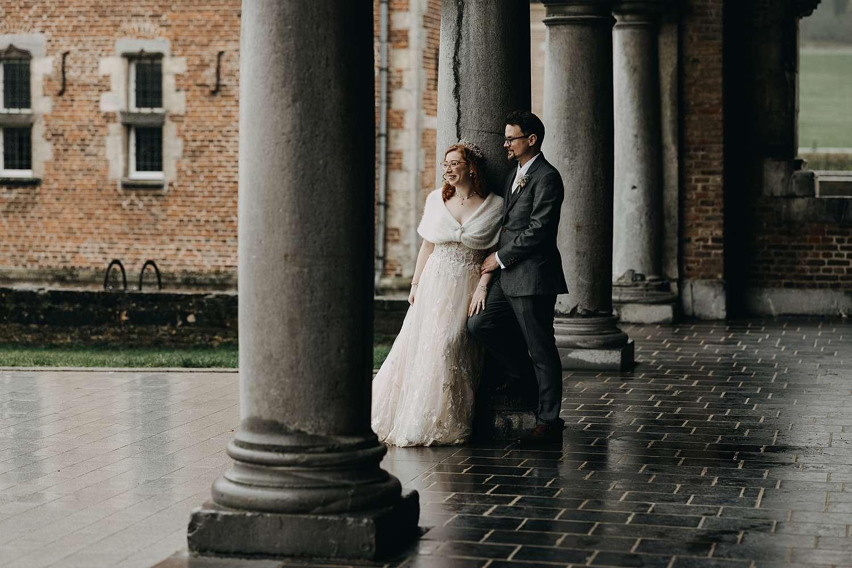 Heleen & Shaun - Doorkijkkerkje in Borgloon 1