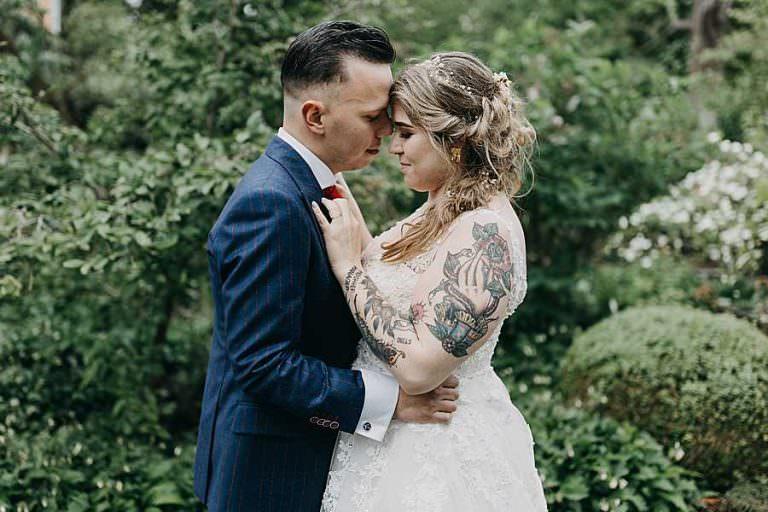 Huwelijk Silke & Jonu