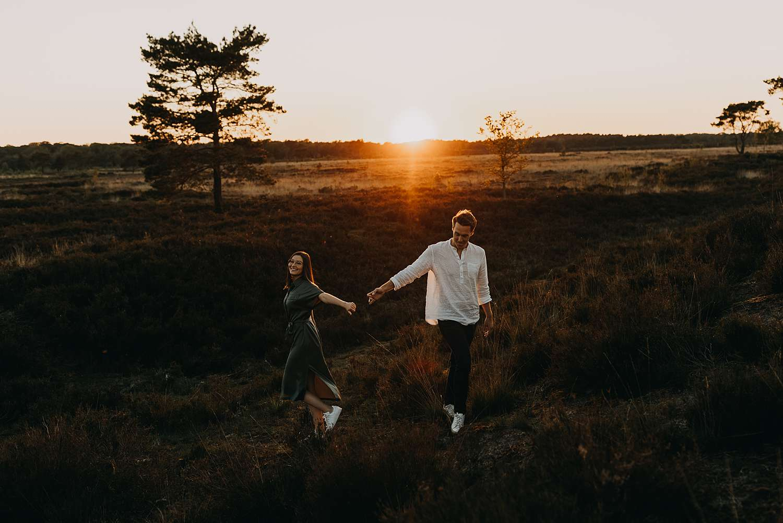 Huwelijksreportage Kalmthoutse heide