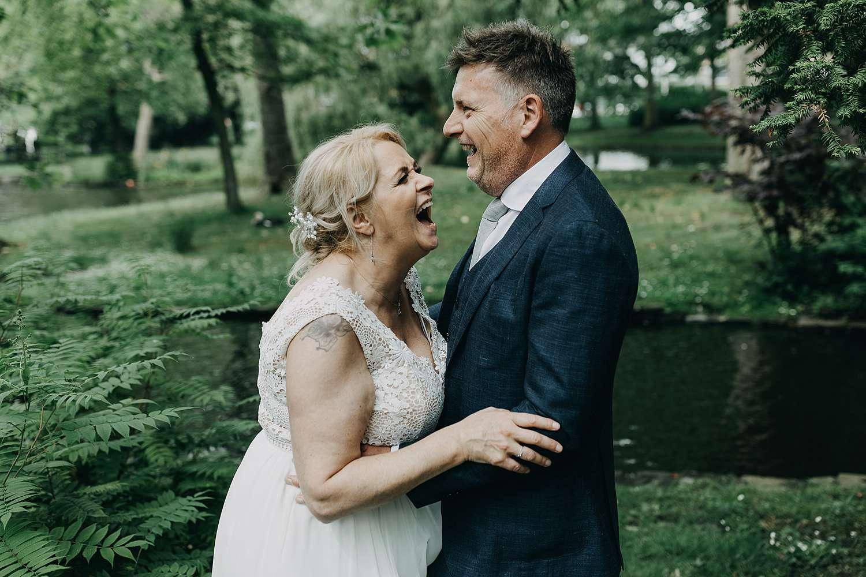 Bruidspaar huwelijksreportage Lier