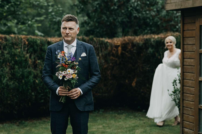 First look huwelijk tuin Lier