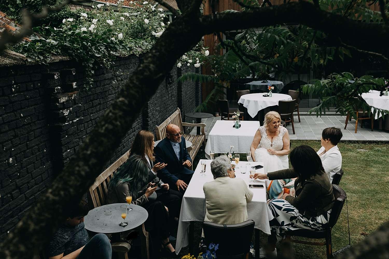 Huwelijk in tuin Hof van Aragon Lier